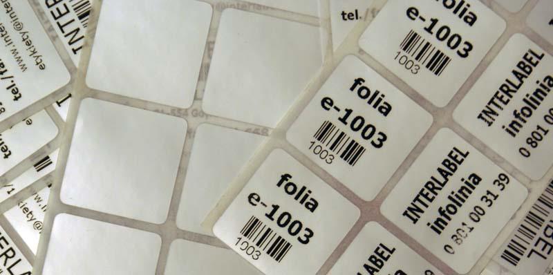 Folia poliestrowa 1003 - opalizująca platynowa