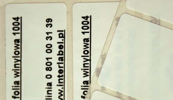 Folia winylowa 1004 / 2007 - półbłyszcząca biała