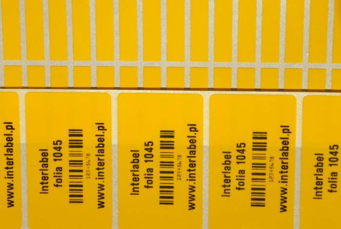 Folia winylowa 1045 / 2005 - błyszcząca żółta