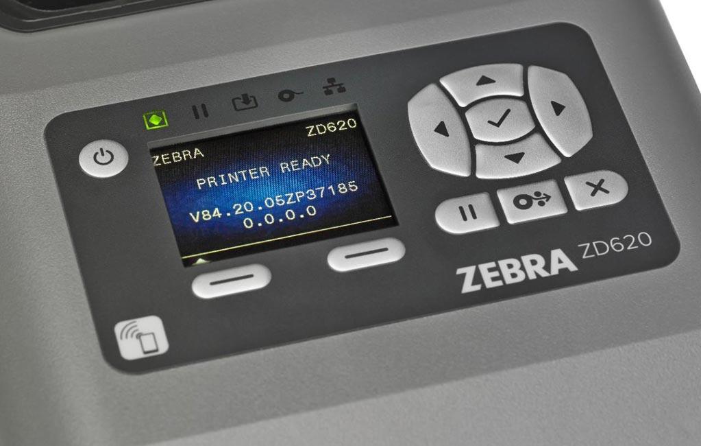 Drukarka etykiet Zebra ZD620t - 3