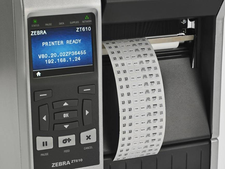Przemysłowa drukarka etykiet ZEBRA ZT610 - 3